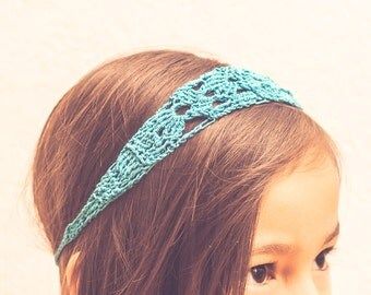 Crochet Headband PDF Pattern, All Sizes, Beginner