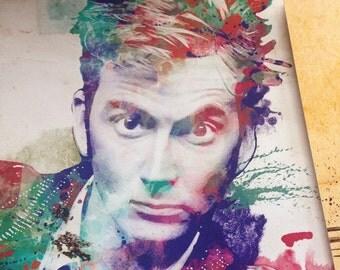 Doctor Ten Watercolor