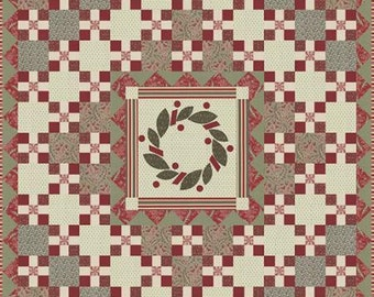 French General Noel Garland Quilt Pattern