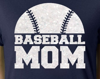 glitter baseball mom iron on baseball mom iron on transfer diy baseball mom shirt iron on letters glitter vinyl heat transfer