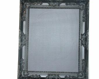 Ornate black chalkboard frame CUSTOM SIZE  decor baroque