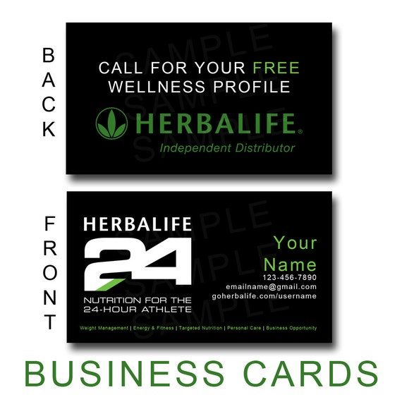 Herbalife24 Business Cards