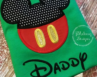 Boy Mouse Custom embroidered Disney Inspired Vacation Shirts for the Family! 701