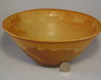Oregon Gold stoneware bowl #260