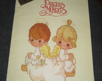 Gloria and Pat Present Precious Moments Counted Cross Stitch Patterns Book 1
