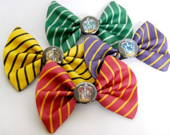 Harry Potter Houses Bows