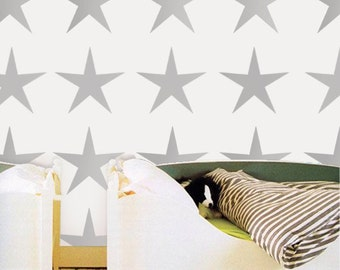 star stencil, star nursery décor, kids star décor, painting stencils, wall stencils, large star stencil, kids décor, kids room star decor