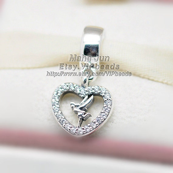 100 925 sterling silver tinkerbell charm with by