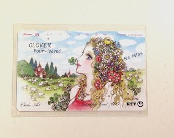 Makoto Illustration Japan Phone Card