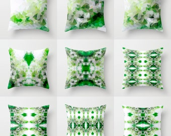 sale green pillow cover throw pillow cushion covers pillow case accent couch pillow decorative pillows pattern