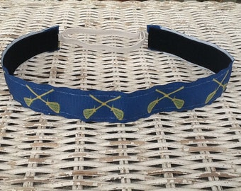 Blue Lacrosse Headbands - Girls Sports Headband