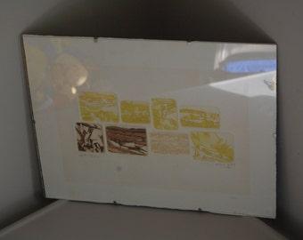 Ruins: Hand-signed Artist Original Numbered Print
