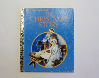 The Christmas Story A Little Golden Book - Nativity Book, First Christmas Story