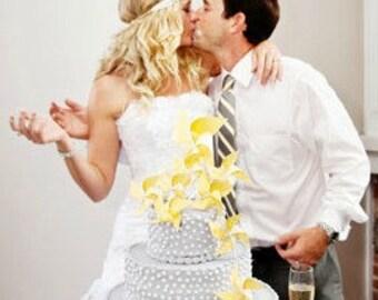 Wedding Cake Topper Pinwheels Custom Made To Order