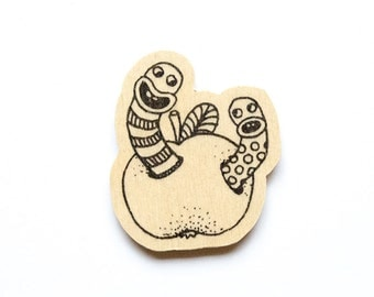 Worms Magnet