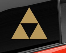 Zelda Triforce Vinyl Decal Nintendo Gamer TriForce Sticker Wall Decal Triforce