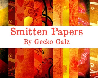 Smitten Digital Paper Pack