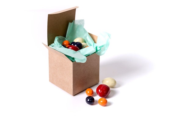 Gold Favor Boxes 4x4x4 : Kraft gift boxes x by fancy that loved catch my party
