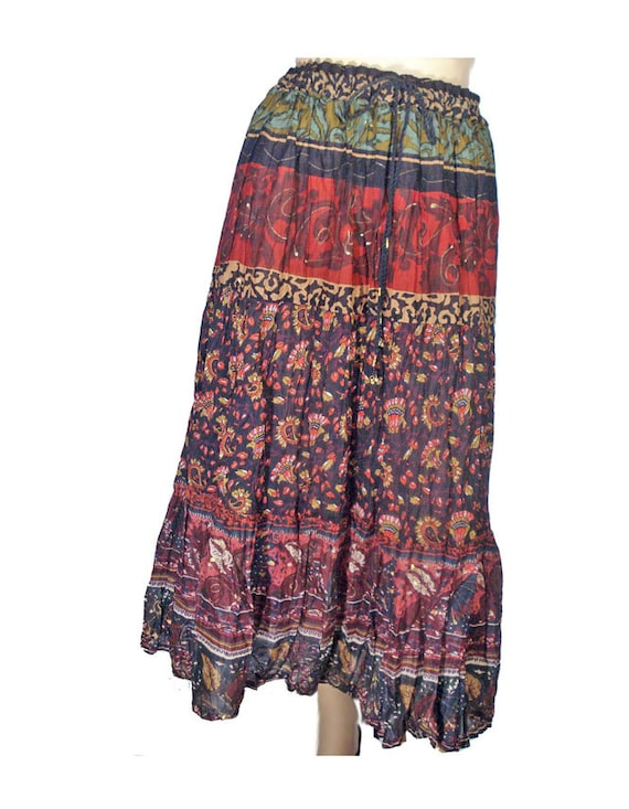 Crinkle Broomstick Skirt 62