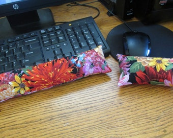 Bouquet of Flower Wrist Rest, Keyboard and Mouse Wrist Rest