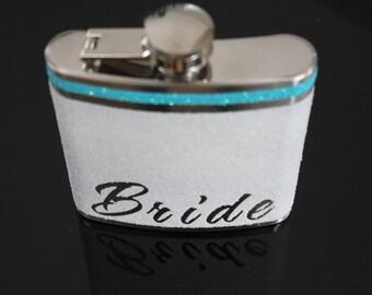 Bride Flask, Bride Gift, Personalize