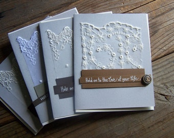 NEW!!!  customized vintage quote cards