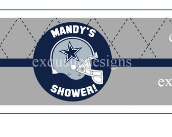 Cowboys Water labels Only