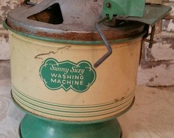 Circa 1939 Sunny Suzy toy washing machine