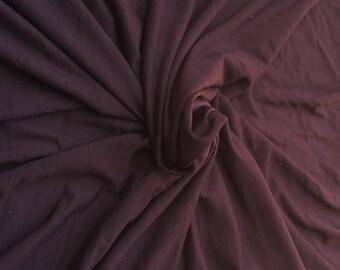 "Modal Spandex Fabric Jersey Knit by the Yard - Truffle 62""W  3/15"