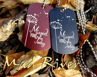 Personalized - Laser Engraved Dog Tags