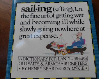 Vintage Sailing by Henry Beard sailing humor dictionary satire book