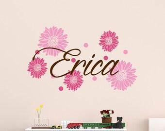Kids Wall Sticker - Kids Name Decals - Child Name Wall Decal - Child's Name Wall Art 0044