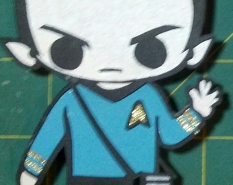 Mr Spock Magnet