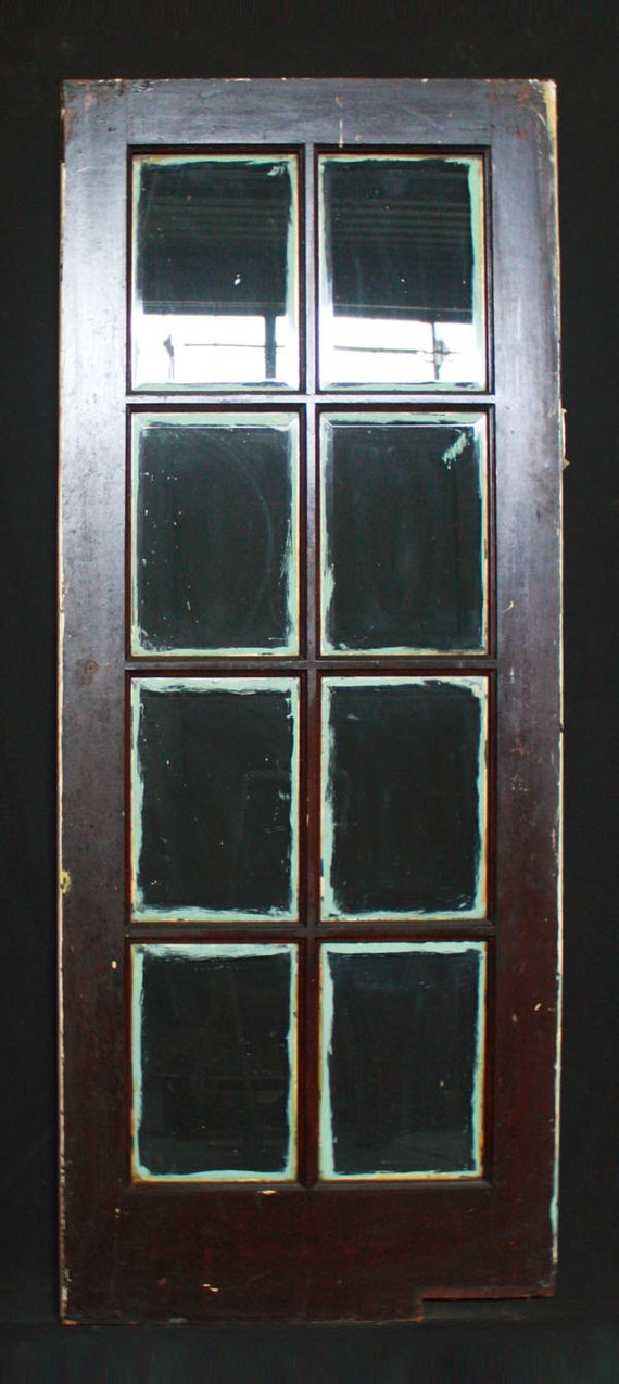 32x 80 antique swinging interior french oak by for Interior double french doors for sale