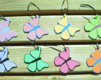 Butterfly Wooden Ornament