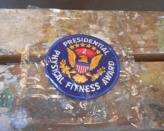 Presidential Physical Fitness Award Patch1970's
