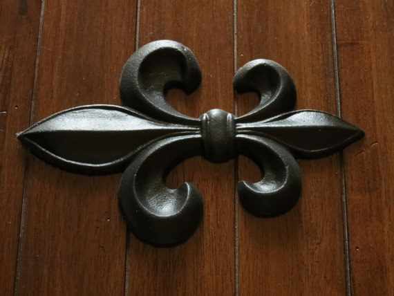 Fleur De Lis Wall Decor Black Cast Iron Wall Decor Paris