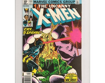 Uncanny X-Men #144 - Marvel Comic Book, Comic Books and Collectibles.