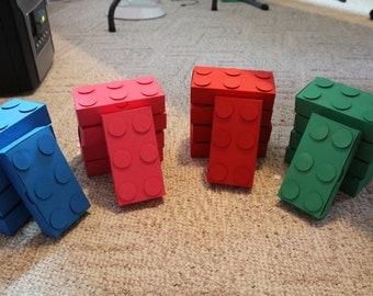 Big building blocks set of 10