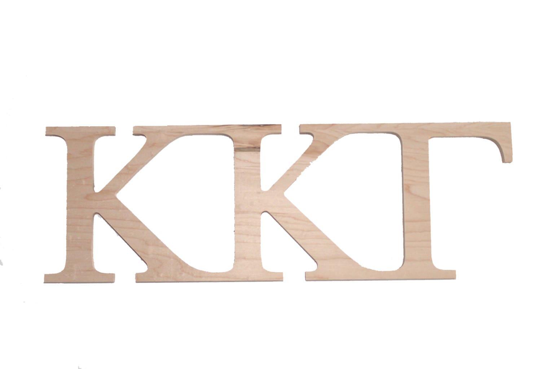 kappa kappa gamma paintable wooden letters With kappa kappa gamma wooden letters