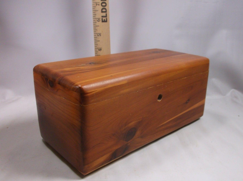 Lane Cedar Chest Vintage dealer give away miniature Mullin
