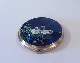 Vintage compact mirrors Stratton powder compacts