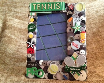 Tennis Picture Frame Etsy