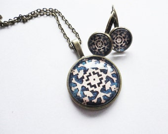 Set jewelry Snowflake Winter