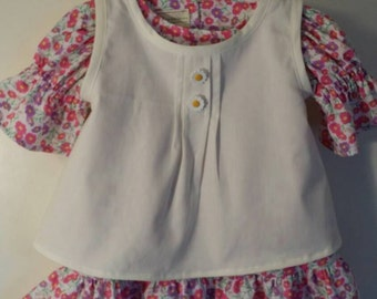 Size 2t 2 pc Dress and Tunic