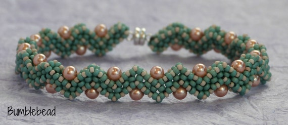 Jagged Little Pearl - A Beadweaving Tutorial