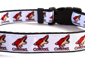 Phoenix Coyotes Dog Collar