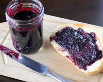 Homemade Organic Blueberry Butter
