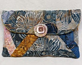 Small Clutch Purse, Quilted Clutch Purse,  Fabric purse, evening bag,  Contemporary Bag, Quilted Purse, Handbag