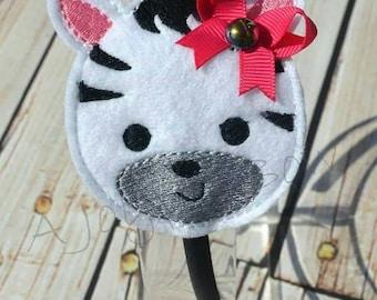 Zebra headband